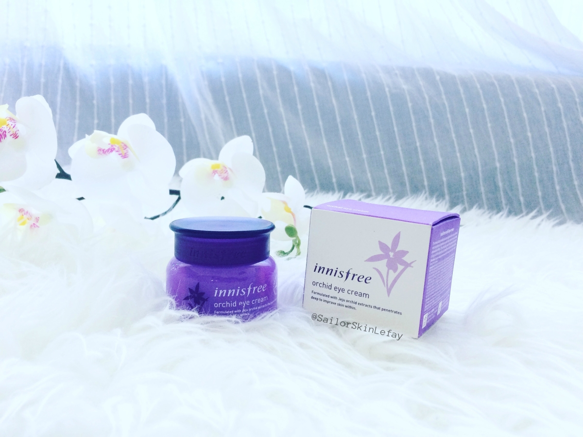 Innisfree Orchid Eye Cream Review Sailor Skin Lefay